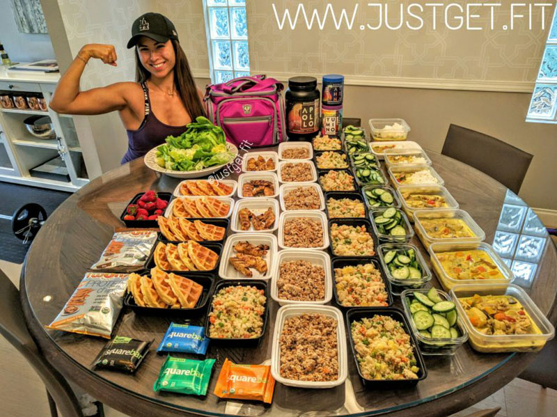 thai inspired meal prep just get fit. Black Bedroom Furniture Sets. Home Design Ideas