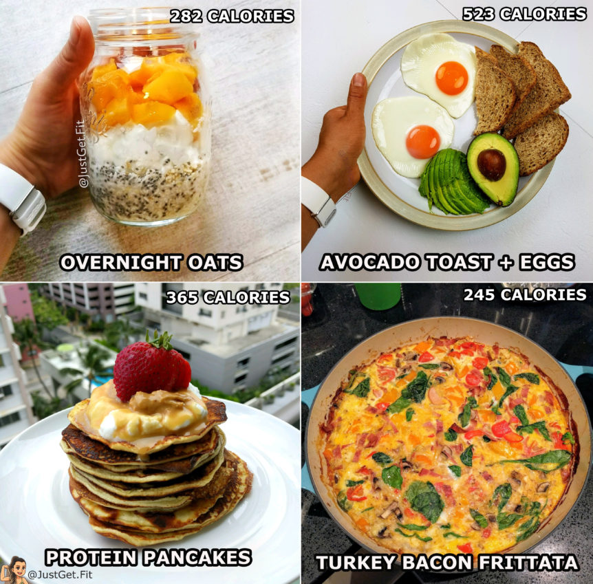 healthy breakfast ideas just get fit